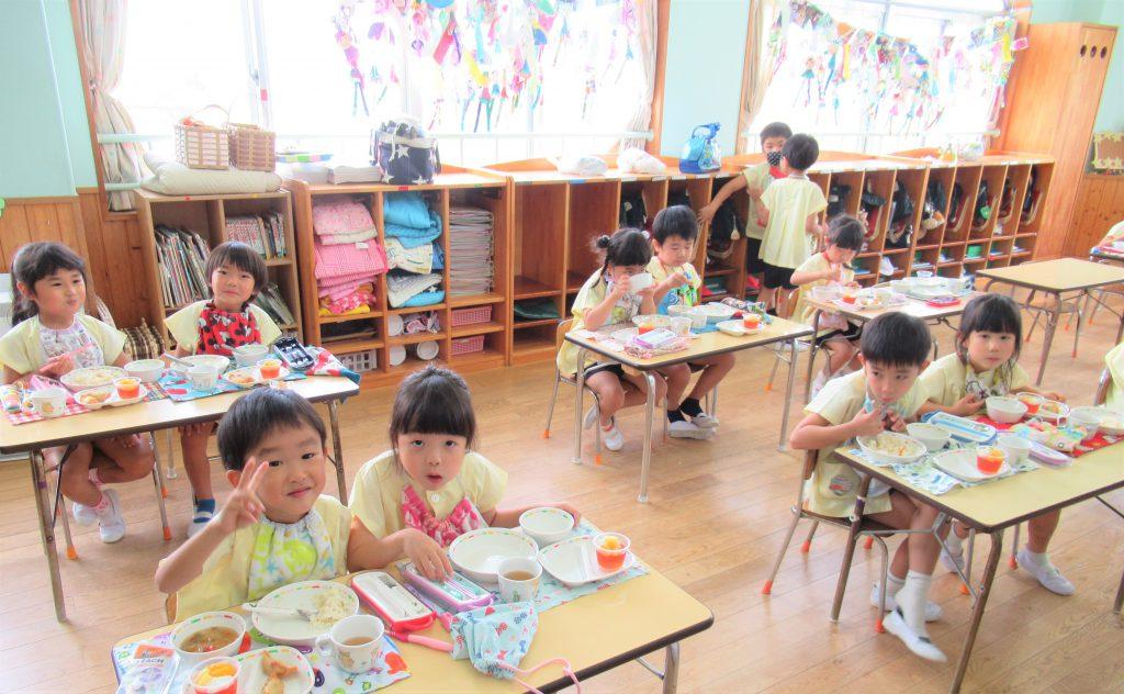 ★慈恵幼稚園の給食紹介★